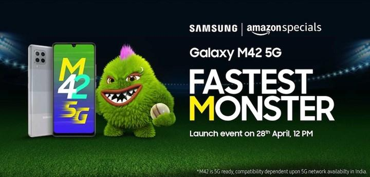 Samsung Galaxy M42 5G specifications and launch date have been announced