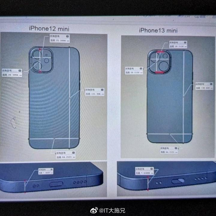 iPhone 12 mini ile iPhone 13 mini arasındaki farklar ortaya çıktı
