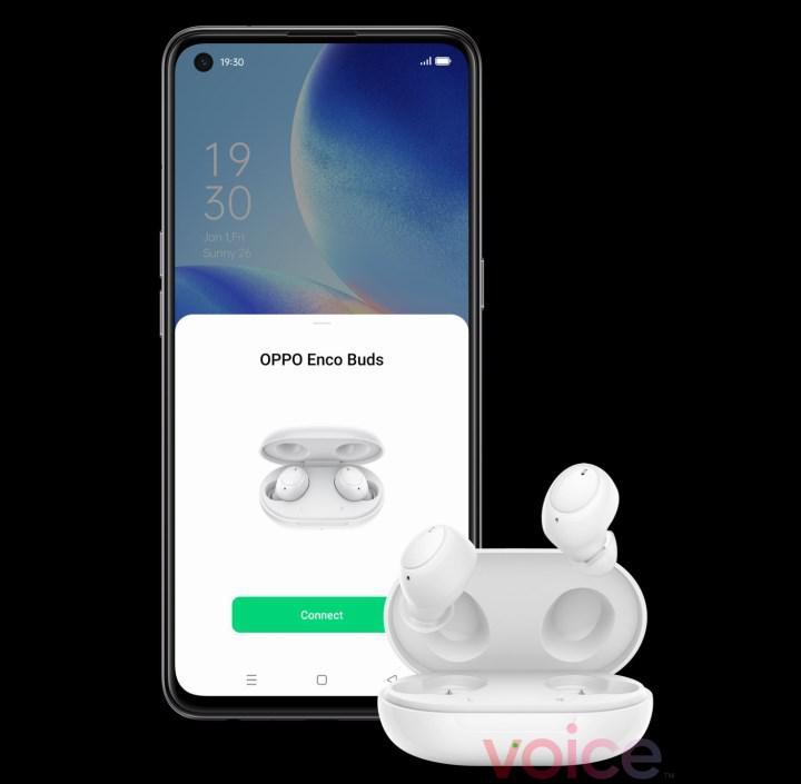 Oppo's new wireless headset Enco Buds revealed