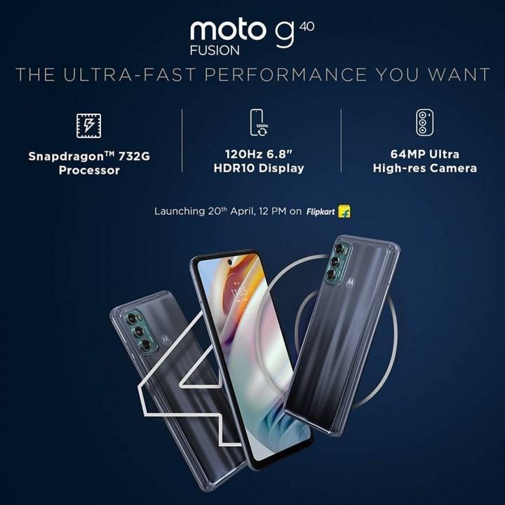 Lansman öncesi Moto G60 ve Moto G40 Fusion'ın temel özellikleri belli oldu