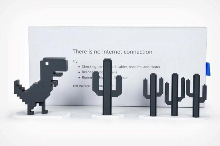 Google Chrome'un internet olmayınca oynanan dinazor oyunu widget olarak iPhone'lara geliyor