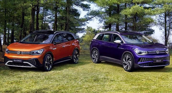 Volkswagen ID.6 electric SUV family introduced