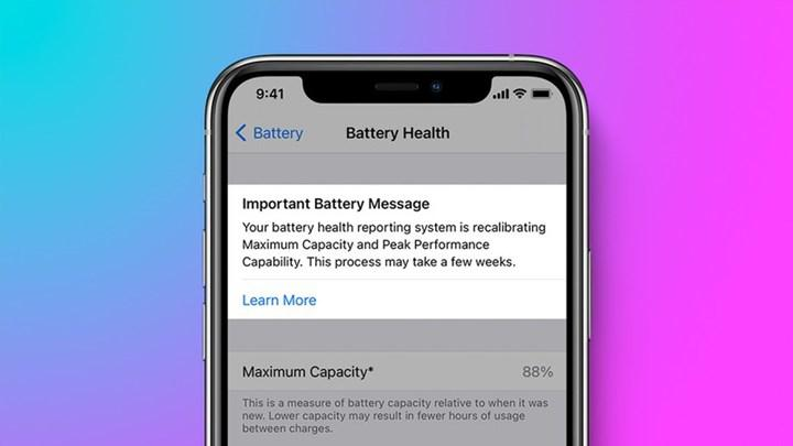 Some iPhone 11's battery health percentage increased after recalibration in iOS 14.5
