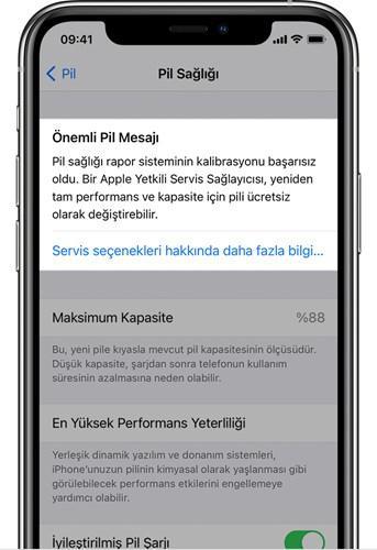 iOS 14.5'teki yeniden kalibrasyon sonrası bazı iPhone 11'lerin pil sağlığı yüzdesi arttı