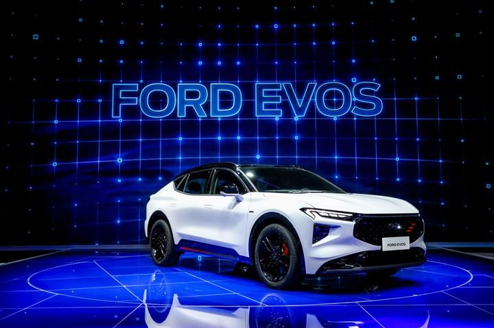 Ford's new SUV coupe Evos appeared in China