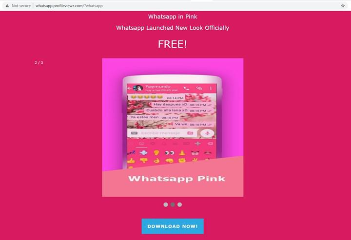 Pembe Whatsapp tehlike saçıyor: Hesabınız ele geçirilebilir