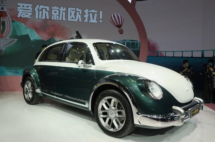 The Chinese brand has electrically returned the classic Vosvos with its new concept