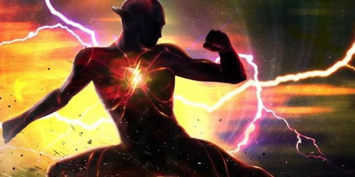 DC filmi The Flash'in logosu paylaşıldı; filmin çekimleri başladı