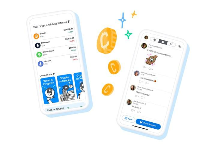 Cryptocurrency move from PayPal's mobile payment service Venmo