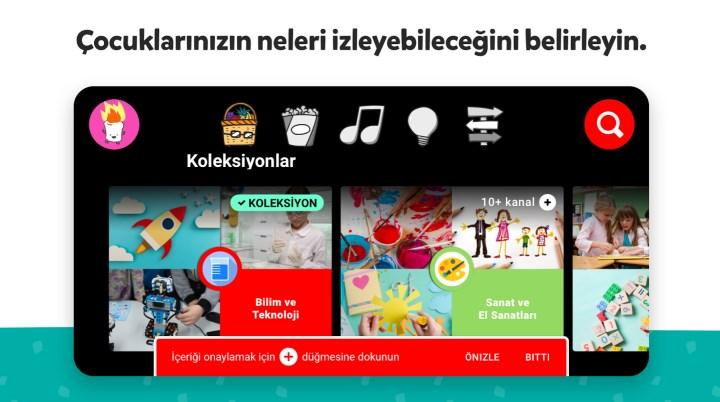 YouTube YouTube Kids app access to special children opened in Turkey!