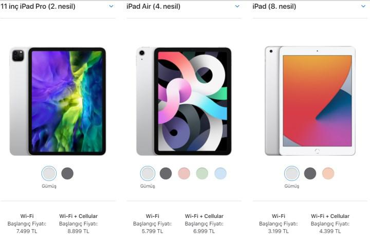 With the introduction of the new iPad and Apple TV, the old models have increased