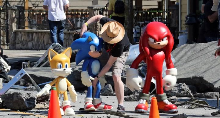 Sonic The Hedgehog 2'den set görseli paylaşıldı: Knuckles'ın tasarımı ortaya çıktı