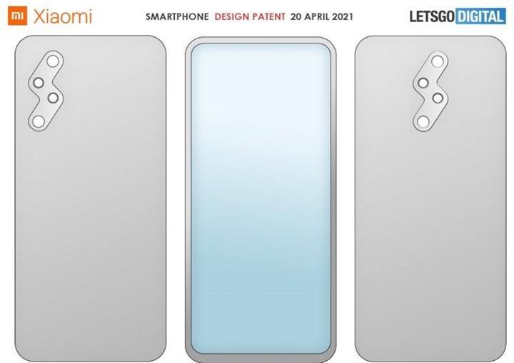 Xiaomi, şimşek tasarımlı arka kamera modülüne sahip bir telefonun patentini aldı