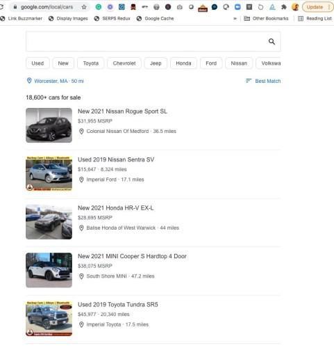 Google, sıfır ve ikinci el araç ilanları göstermeye başlayacak