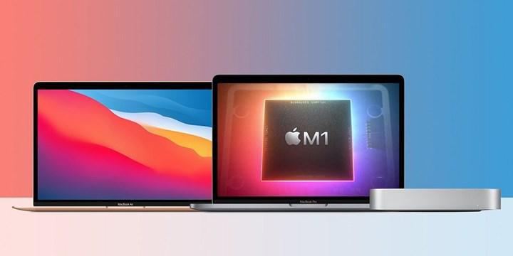Apple M1 işlemcili Mac'ler satışlarda Intel tabanlı modelleri geride bıraktı