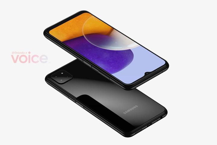Samsung Galaxy A22'nin render görüntüleri ortaya çıktı