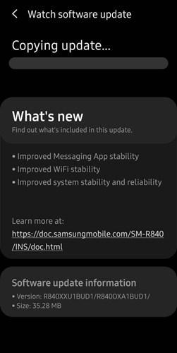 Samsung hem eski Galaxy Watch, hem de yeni Galaxy Watch 3'ün yazılımını güncelledi