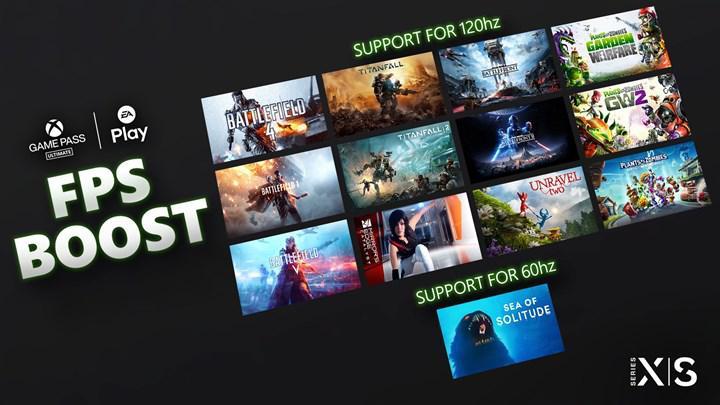 Xbox Series X/S'in, FPS'i ikiye katlayan FPS Boost özelliği 13 oyuna daha geldi