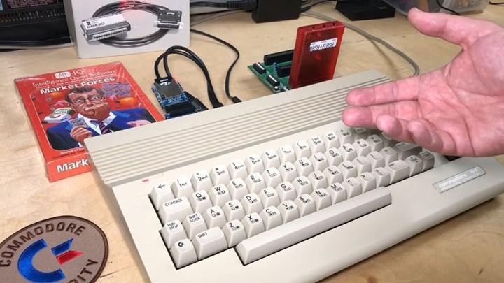 Commodore 64 ile Bitcoin kazıldı