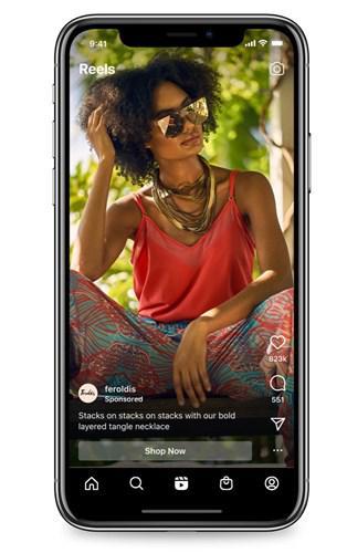 Instagram, Reels'te reklam göstermeye başlıyor