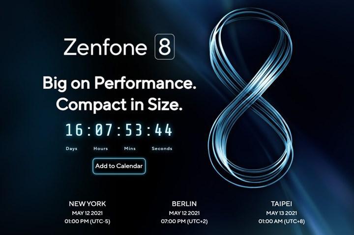 Asus Zenfone 8'in tanıtılacağı tarih belli oldu