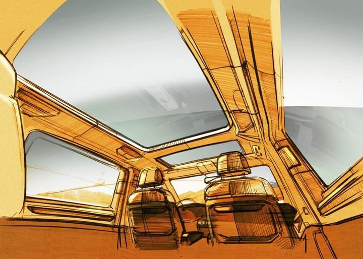 2021 Volkswagen T7 Multivan'a ilişkin yeni ipuçları paylaşıldı
