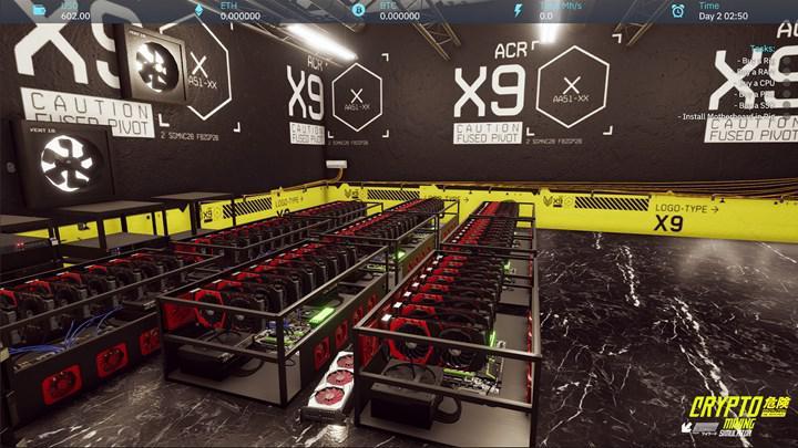 Kripto para madenciliği oyunu çıktı: Crypto Mining Simulator