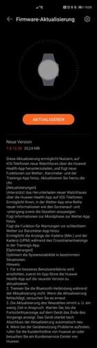 Huawei Watch GT 2 önemli bir yazılım güncellemesi aldı