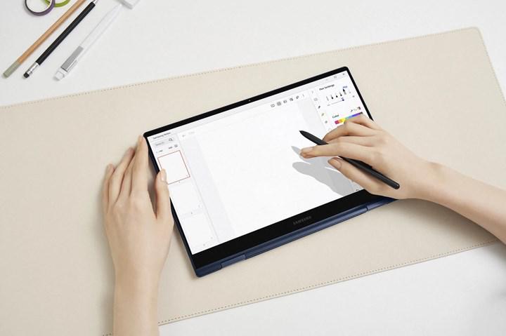 Galaxy Book Pro 360 melez dizüstü tanıtıldı