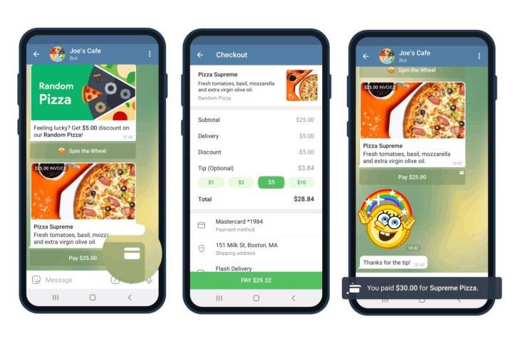 Telegram yeni güncellemesi ödeme sistemini yeniliyor
