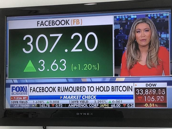 Facebook'un Bitcoin aldığı iddialarının doğru olmadığı ortaya çıktı