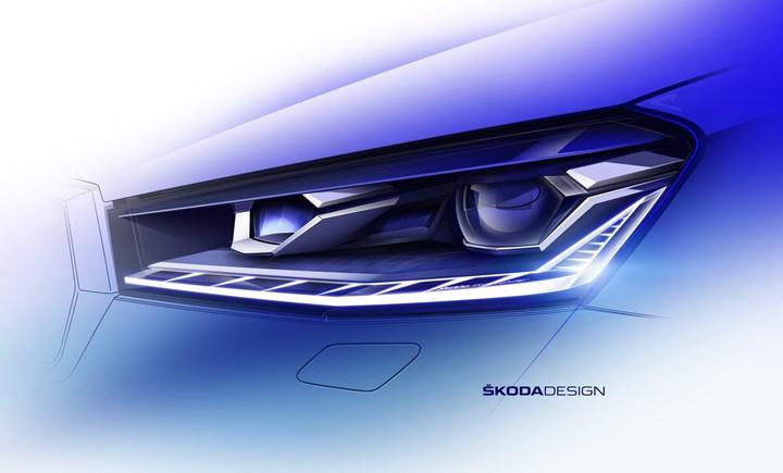 2021 Skoda Fabia'nın konsol tasarımı ortaya çıktı