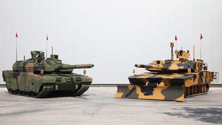 Altay tankına güç verecek yerli motor ilk kez ateşlendi