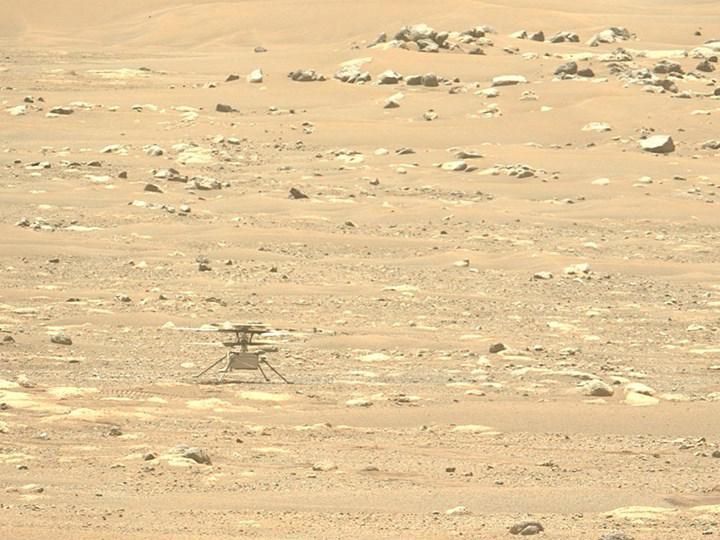 Mars helikopteri Ingenuity'nin dördüncü uçuş denemesinde beklenmedik başarısızlık