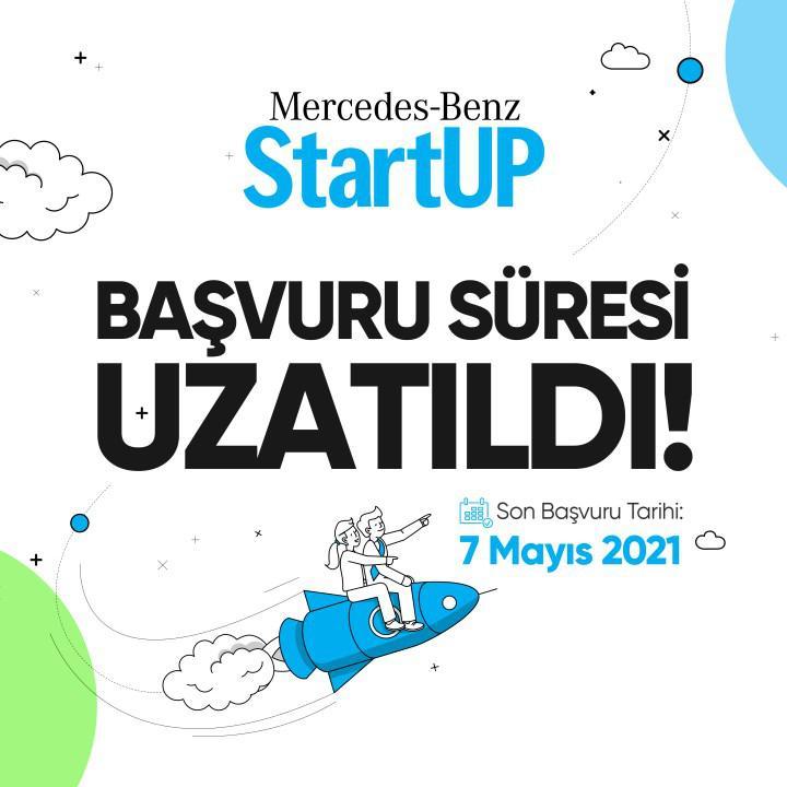 Mercedes-Benz StartUP 2021 başvuru süresi uzatıldı