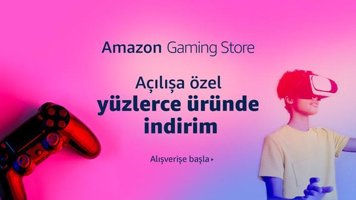 Amazon Gaming Store açıldı: Gaming ürünlerde lansmana özel indirimler