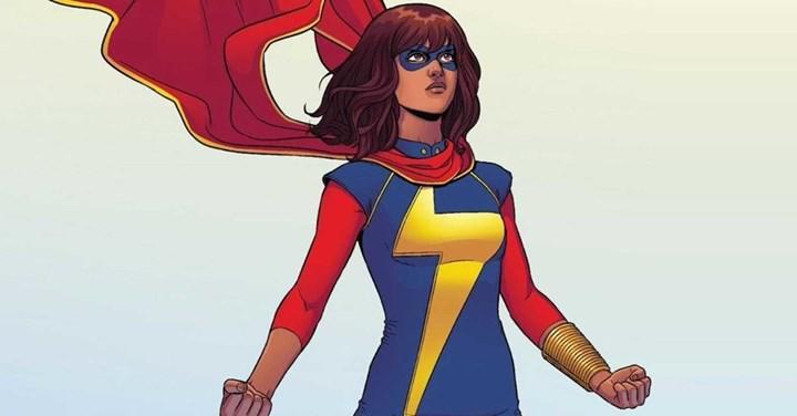 Marvel'ın yeni dizisi Ms. Marvel'dan ana karakterin ve kostümünün bulunduğu görseller paylaşıldı