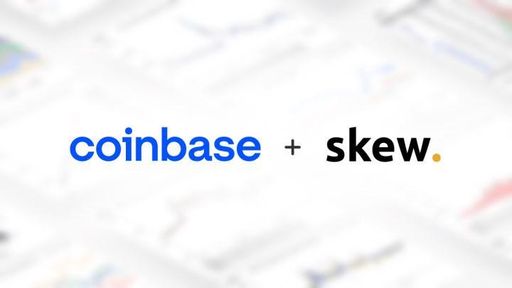 Kripto para borsası Coinbase, veri ve analiz sağlayıcısı Skew'i satın aldı