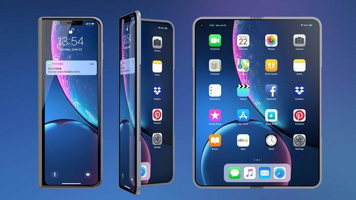 Ünlü analist açıkladı: Apple 2023'te, 8 inçlik katlanabilir iPhone'u piyasaya sürecek
