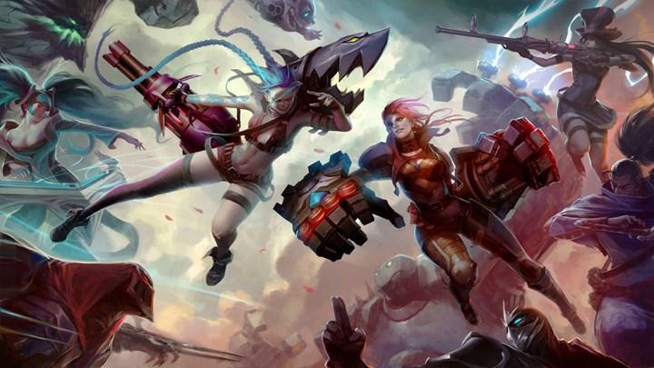 Netflix'in League of Legends animasyon dizisi Arcane'den ilk görüntüler paylaşıldı
