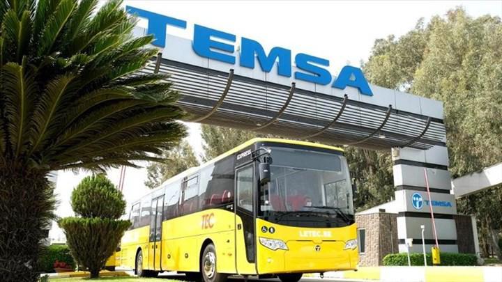 Avrupa'da ihracat atağına geçen Temsa'dan Belçika'ya otobüs teslimatı