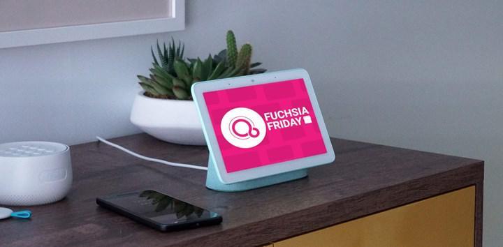 Google Fuchsia işletim sistemine sahip ilk cihaz piyasaya sürülmeye hazır