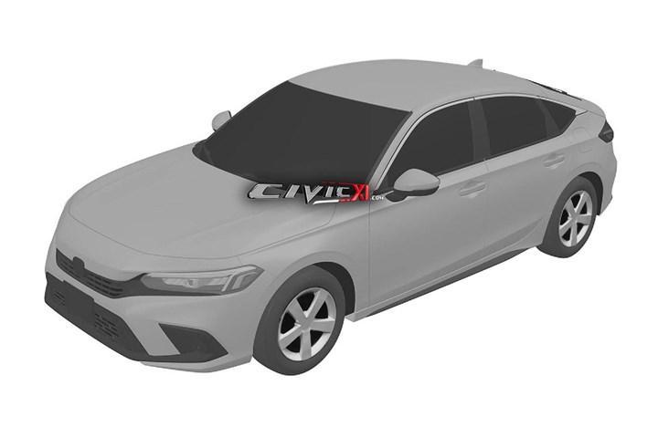2021 Honda Civic Sedan ve Hatchback'in tasarımı patent görüntüleriyle ortaya çıktı