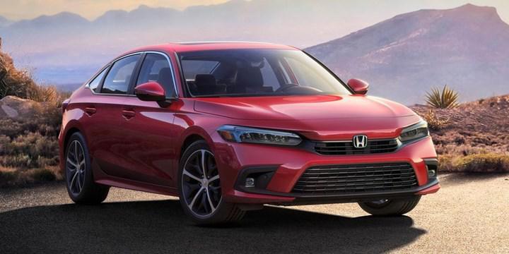 Yeni nesil Honda Civic Sedan'ın ilk resmi görseli paylaşıldı
