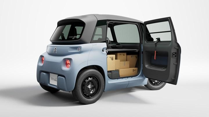 7 bin euro'ya satılan elektrikli Citroen Ami'nin kargo versiyonu da çıktı