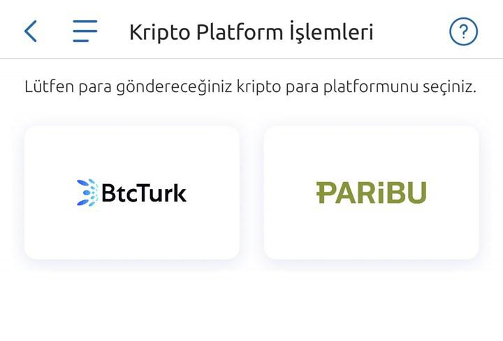 Yapı Kredi Mobil üzerinden kripto para borsalarına transfer yapılabiliyor