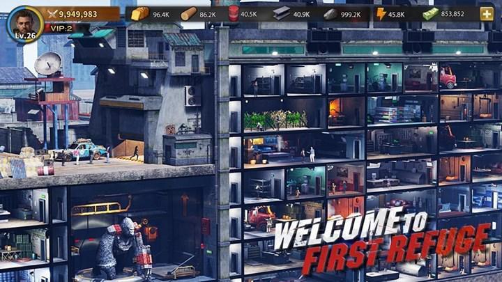 Zombi temalı strateji oyunu First Refuge: Z, Android için çıktı iOS için önümüzdeki ay çıkacak