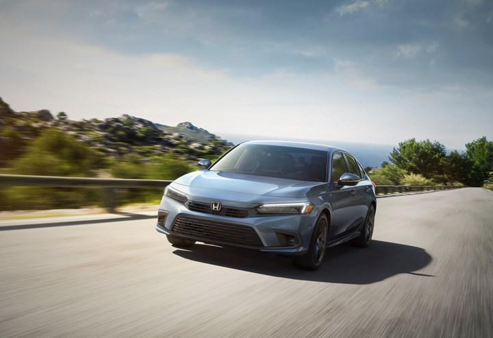 2022 Honda Civic Sedan tasarımı