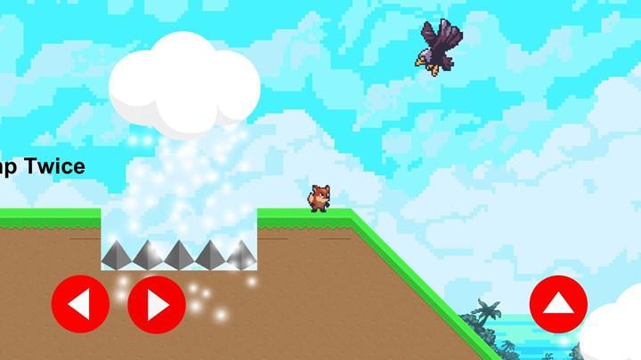 Macera oyunu Foxy's Adventure Mobile, iOS cihazlar için yayınlandı