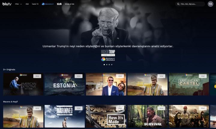 Discovery+, BluTV üzerinden Türkiye'de yayına başladı